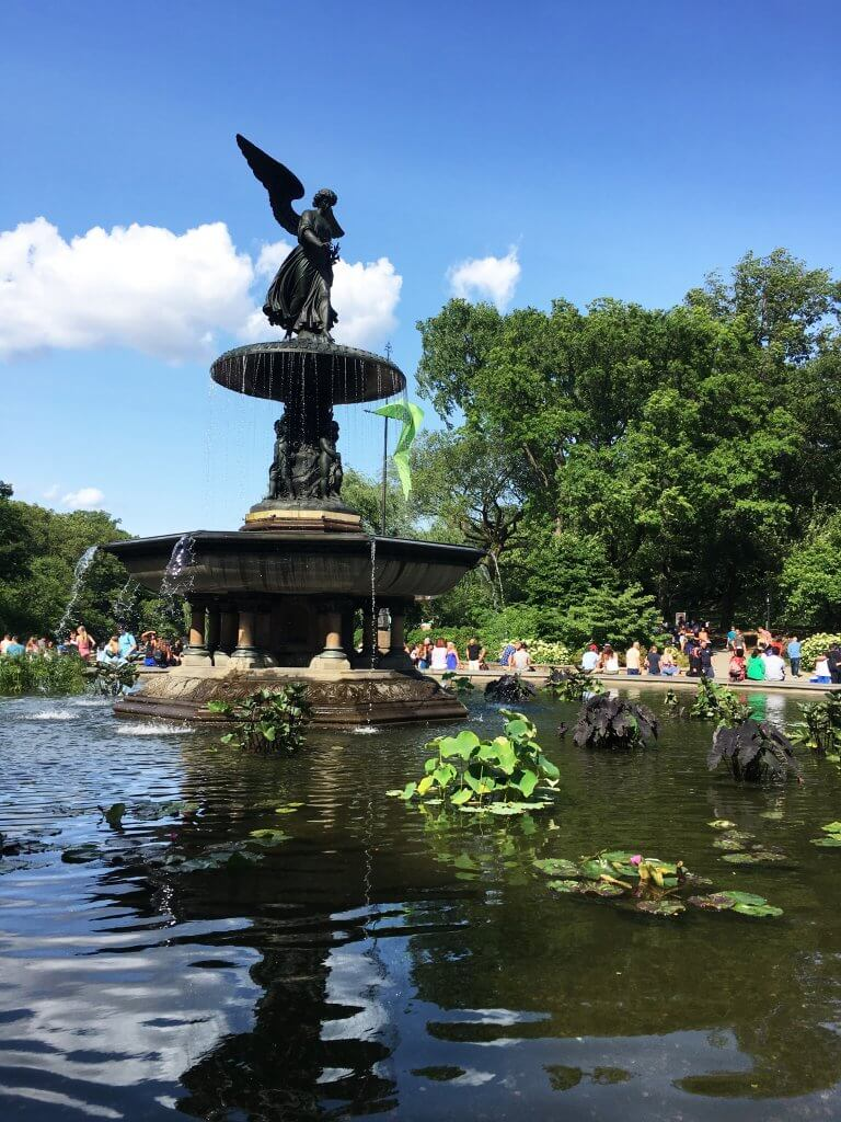 Bethesda Fountain in Central Park, NYC