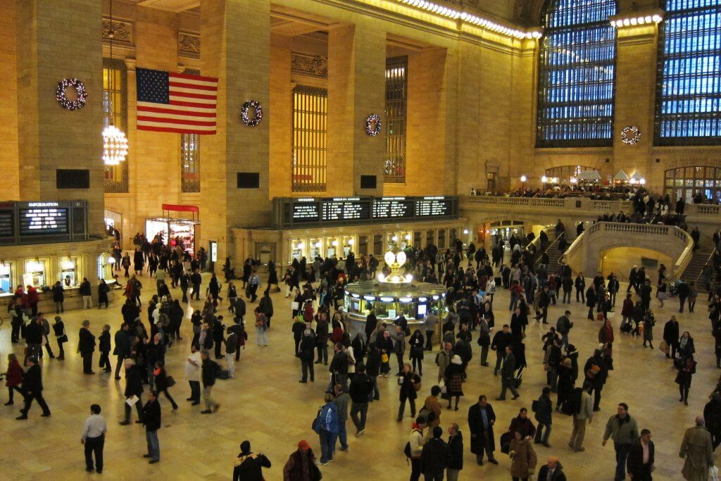 Grand Central Station from above, New York City