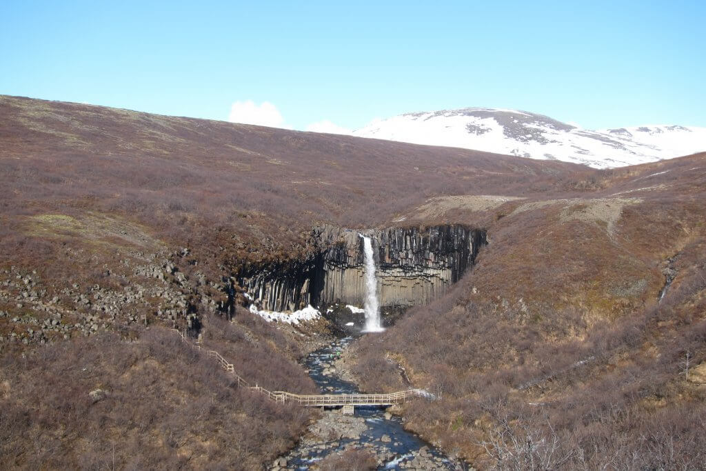 Svartifoss in Iceland with Kids